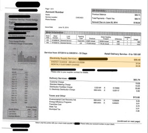 Sample Energy Bill With Hidden Costs